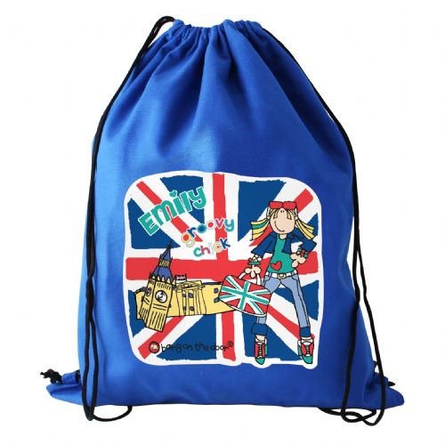 Personalised Bang On The Door London Chick Swim bag